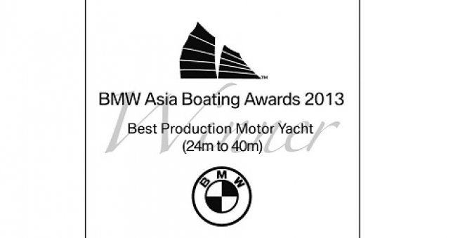 40m Gewinnt Best Production Yacht