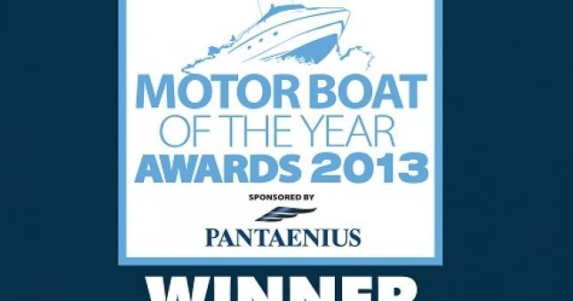 Princess V39 Recieves Motor Boat of the Year
