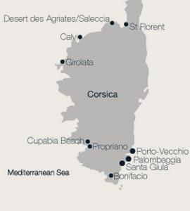 Calvi to Porto Cervo