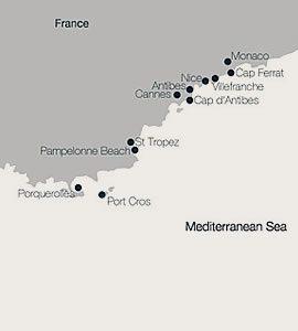 Antibes to Monaco