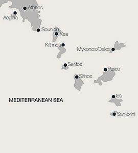 Athens to Aegina
