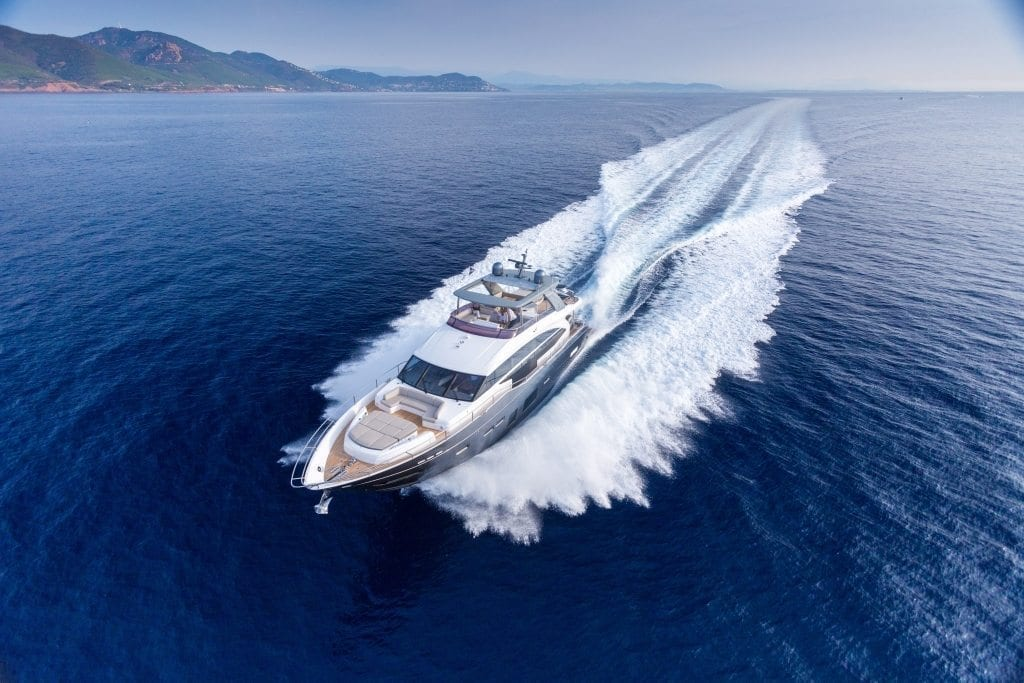 The Princess 75 Motor Yacht