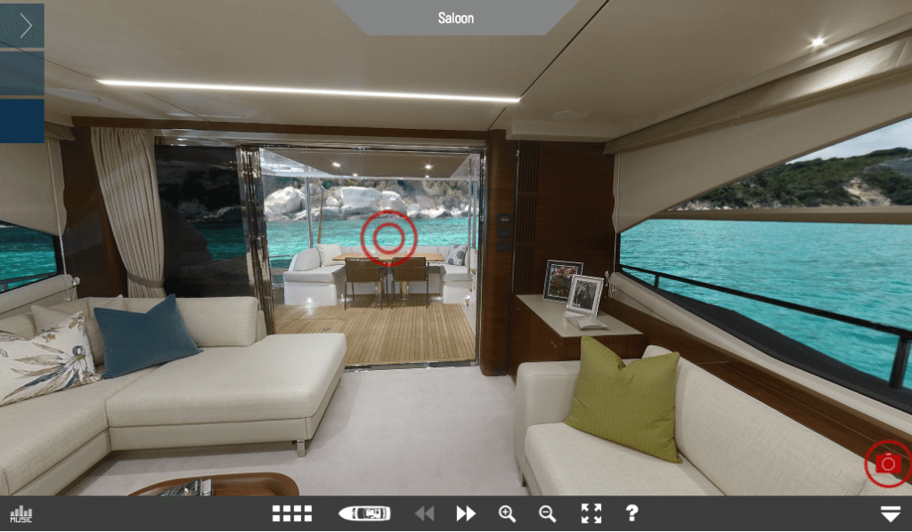 Princess 75 Virtual Tour