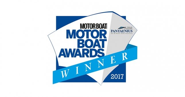 Princess V58 Open Wins Motor Boat Award 2017
