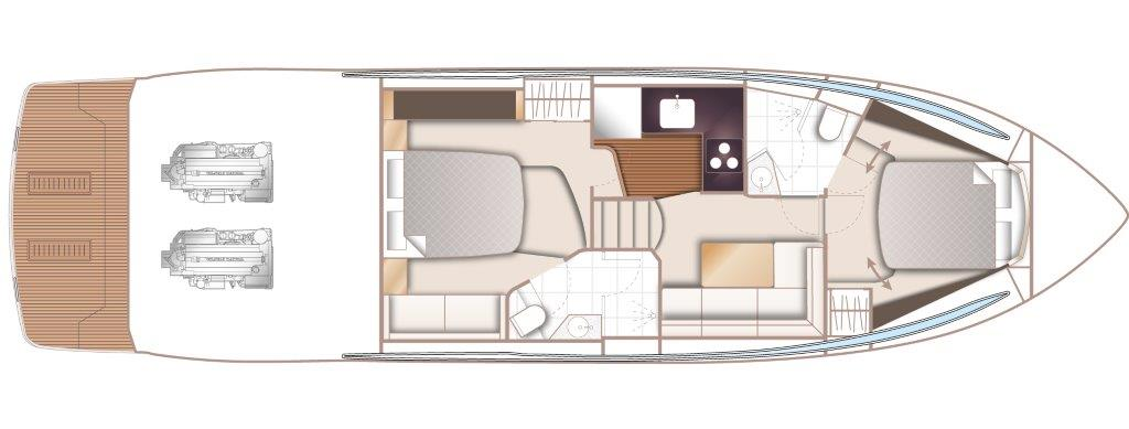 V50 Layout Lower Deck