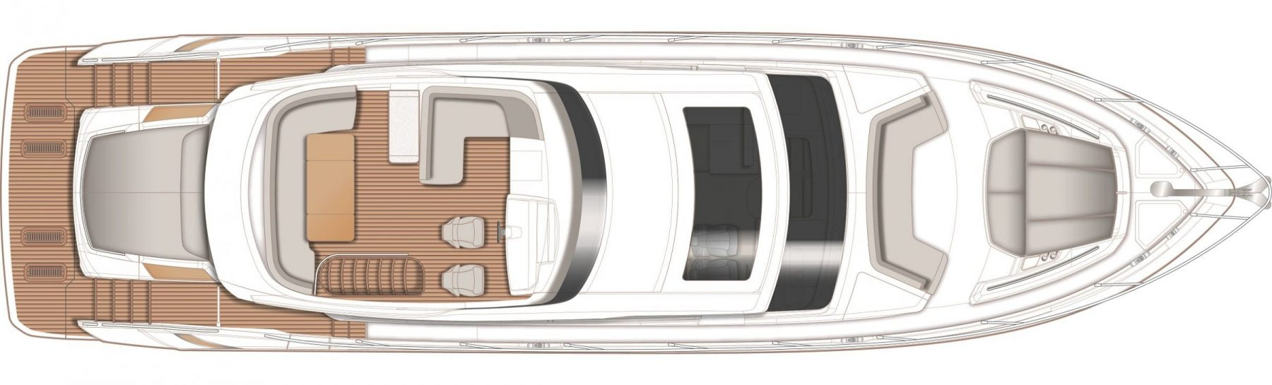 S65 Layout Flybridge