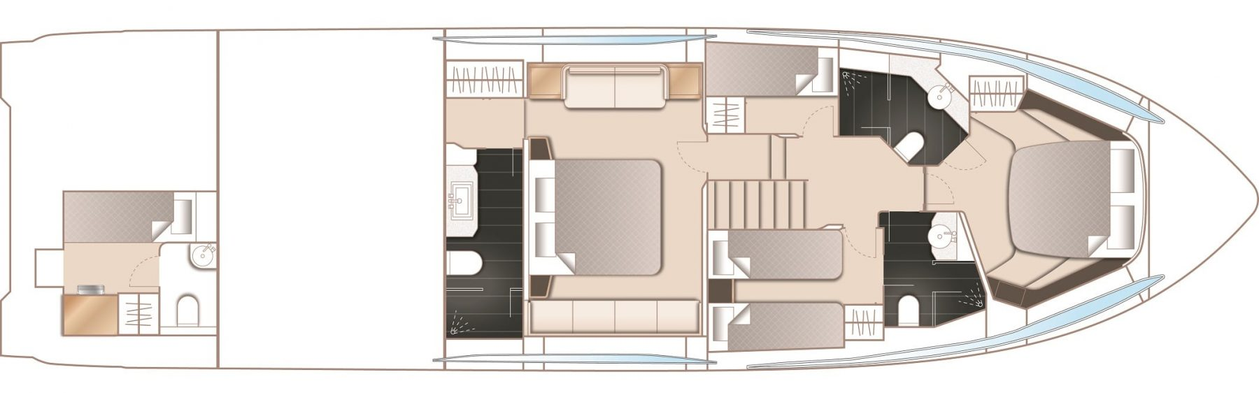 S60 Layout Lower Deck