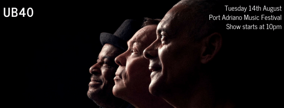 UB40 - Port Adriano Music Festival