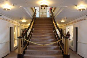 Royal Yacht Britannia Staircase