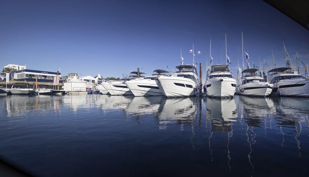 Princess Yachts display